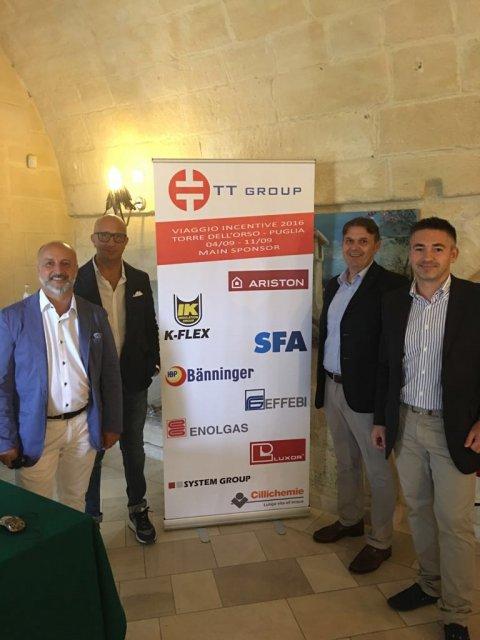 TT GROUP VIAGGIO INCENTIVE 2016 TORRE DELL' ORSO - PUGLIA 04/09 - 11/09